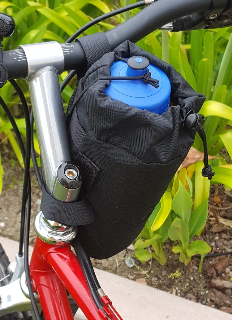 Anywhere Bag Shown with Water Bottle