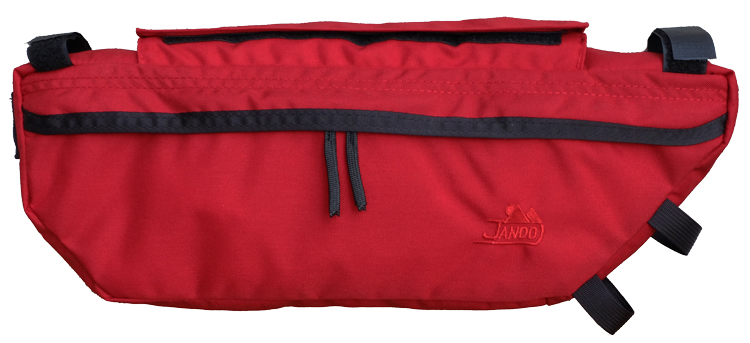 Bicycle Frame Bag Large Red