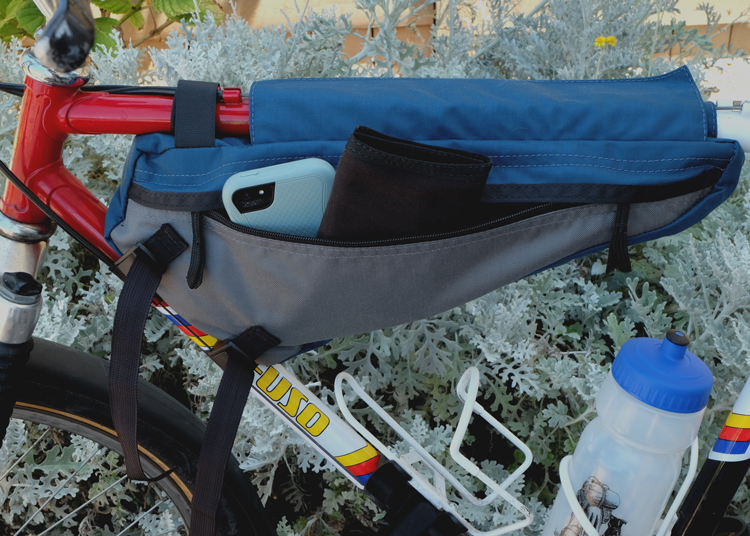 Bicycle Frame Pack Back Pocket