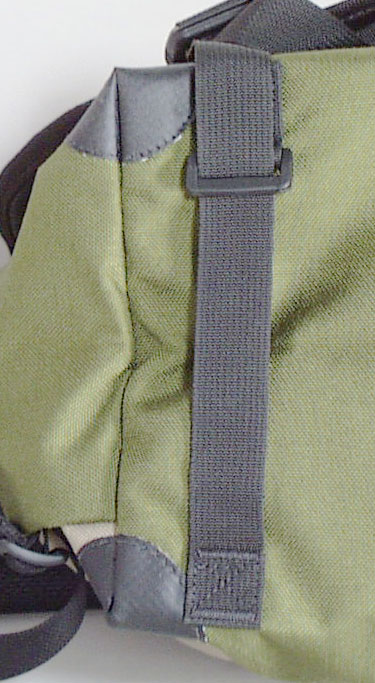 Bottom Compression/Lash Strap & Corner Guards - Andrew Messenger Bag