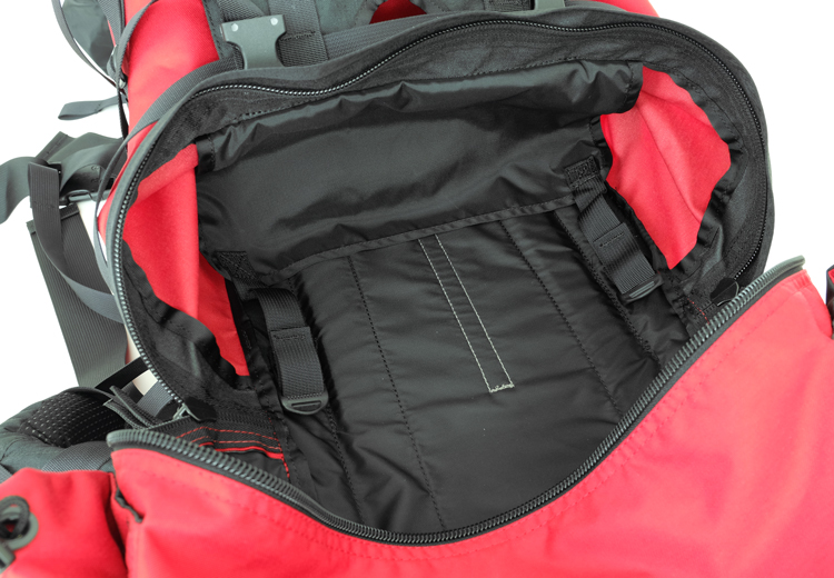Sleeping Bag Lower Compartment