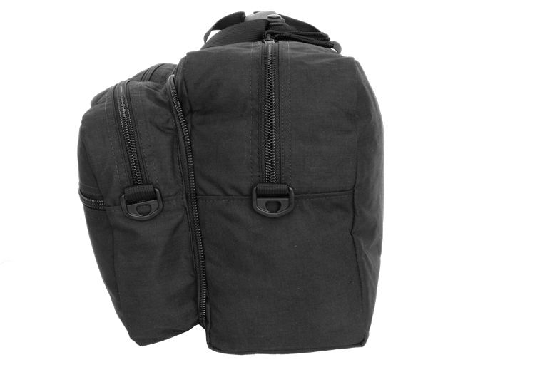 Side View Duffle Open
