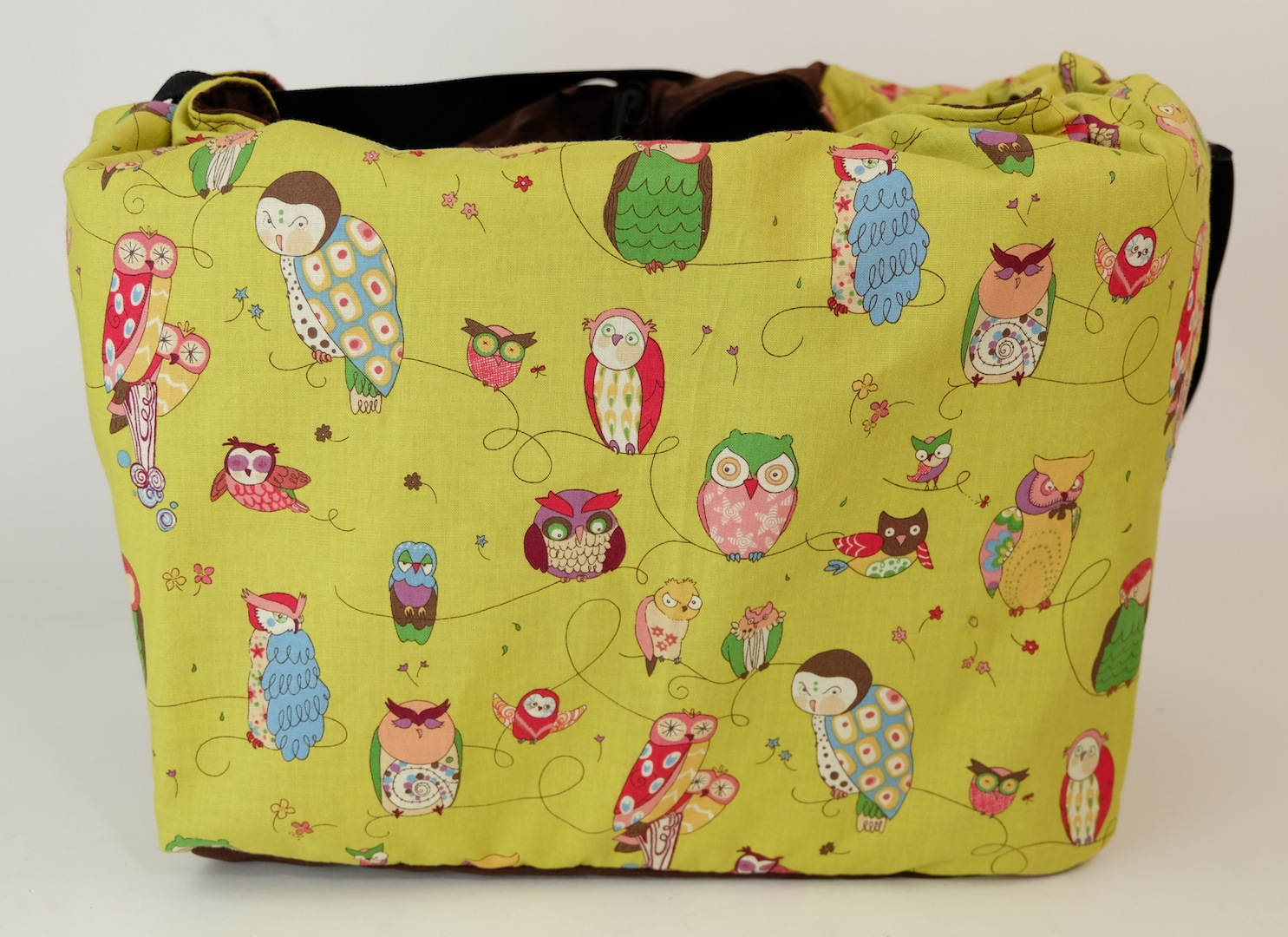 It's A Hoot - Bicycle Basket Liner and Tote Bag