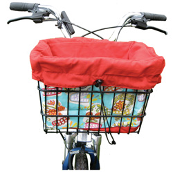 Bicycle Basket Liner and Tote Bag