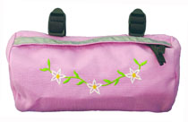 Bike Cruiser Bag - Pink Flower