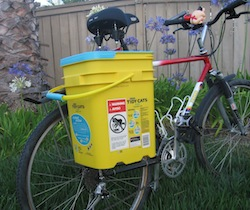 Bucket Bicycle Pannier Kit