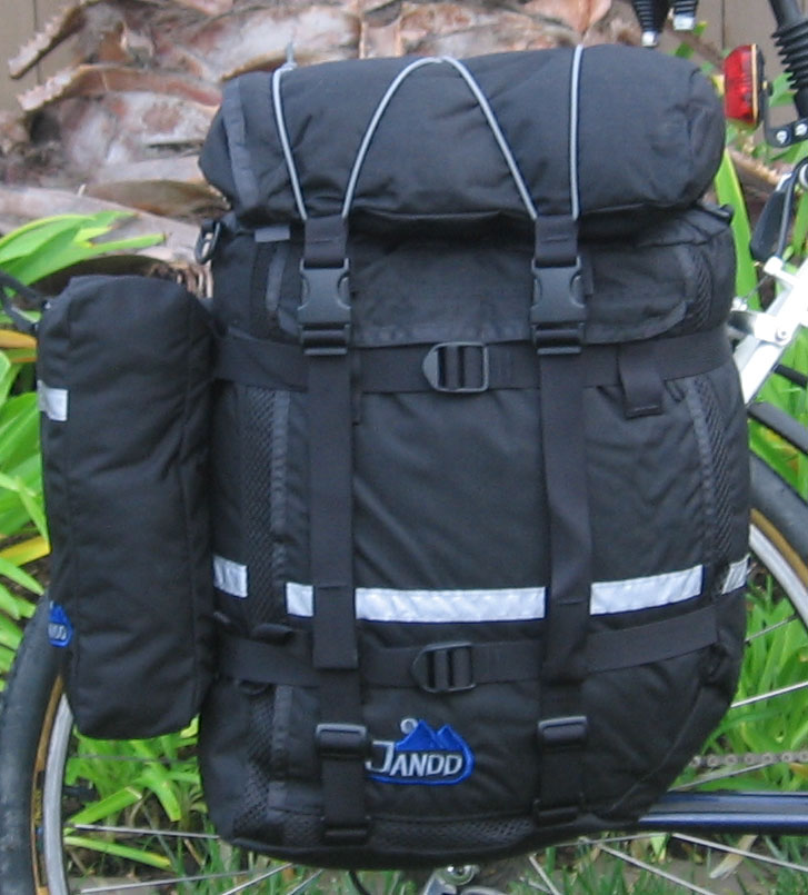 Lrg Mtn Pannier shown  with optional pocket