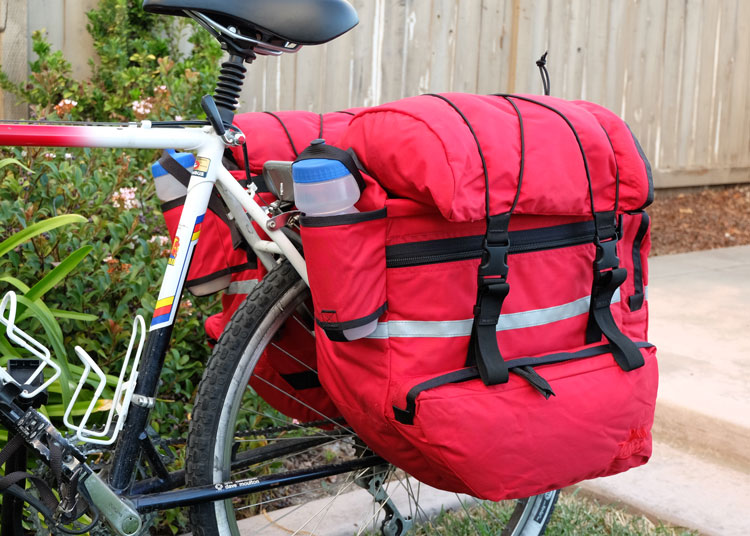 Mtn Expedition Pannier Front