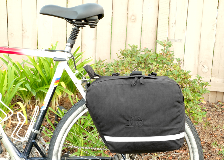 Saddlebag Pannier Side View