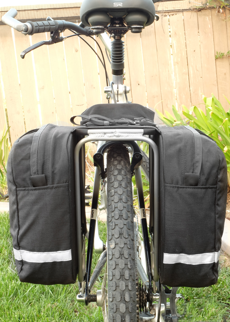 Saddle Bags Side Back View
