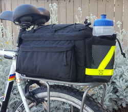 Rear Rack Pack E-Bike or Guide