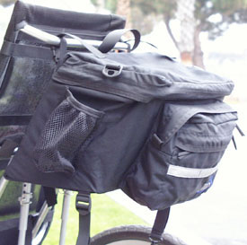 Recumbent Day Trip Pannier - Closeout