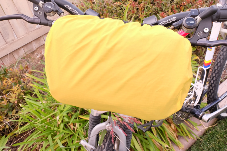 Rain Cover Yellow Side