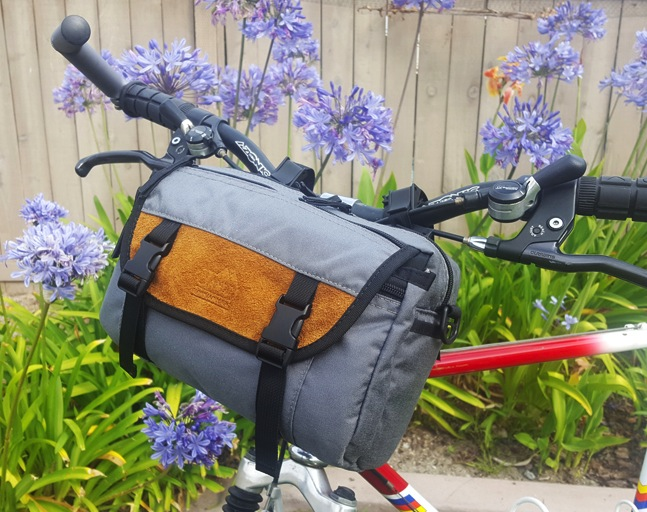 Shoulder bag as HandleBar Bag