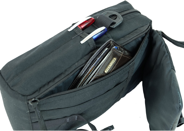 Side Pocket and Pen Pockets