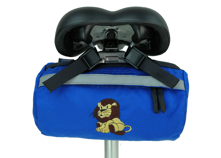 Bike Bag Blue Lion