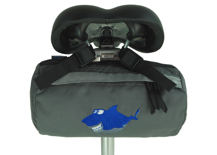 Bike Bag Grey Shark