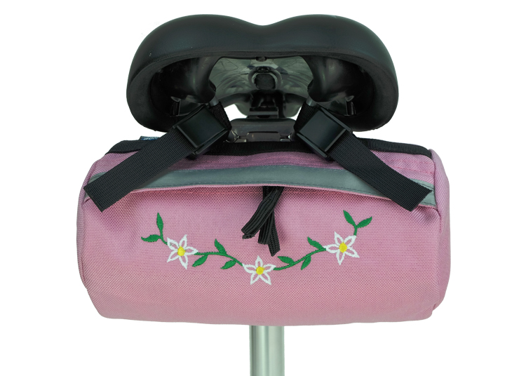 Bike Bag Pink Flower
