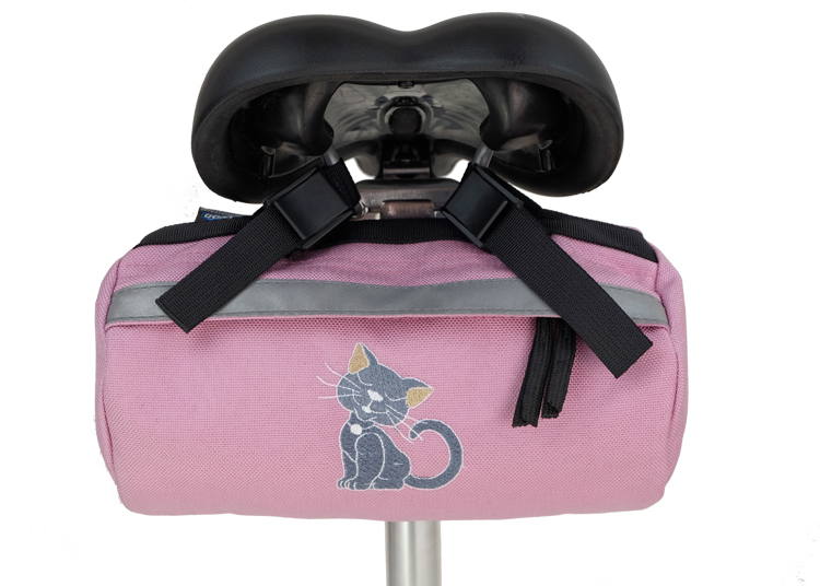 Bike Bag Pink Kitty