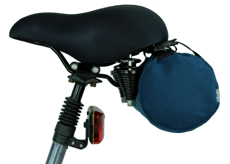 Bike Bag Rear Seat Side View