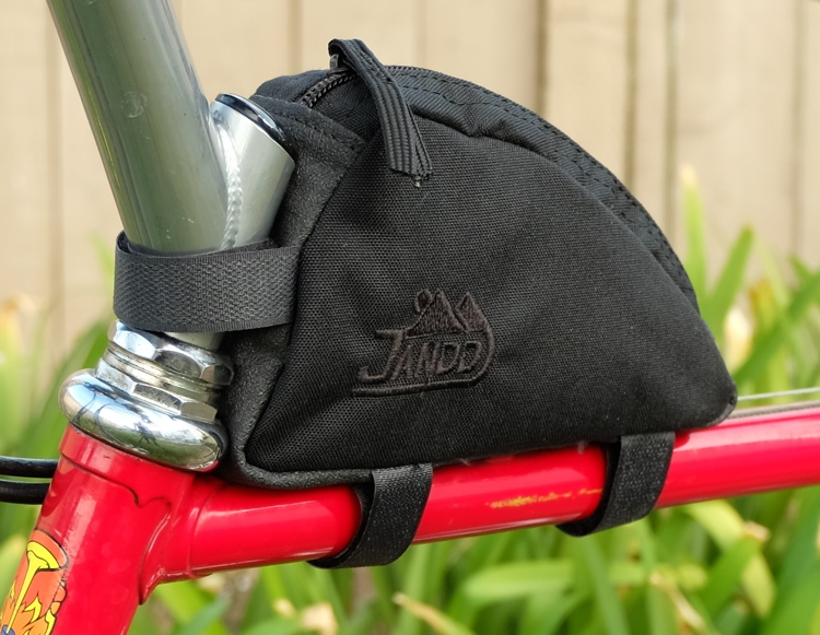 Front Side View Stem Bag Swept