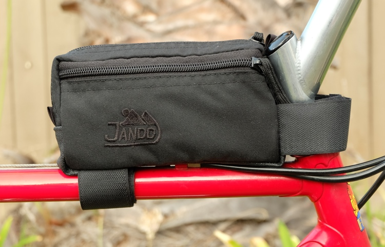 Zippered Side Pocket