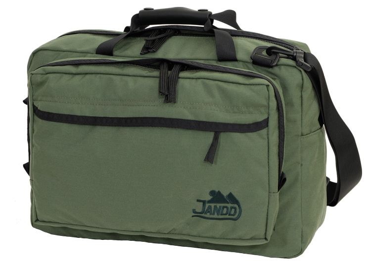Convertible Briefcase Bookpack Avocado