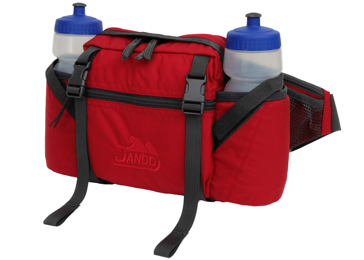 Water Bottle Fanny Pack - Red