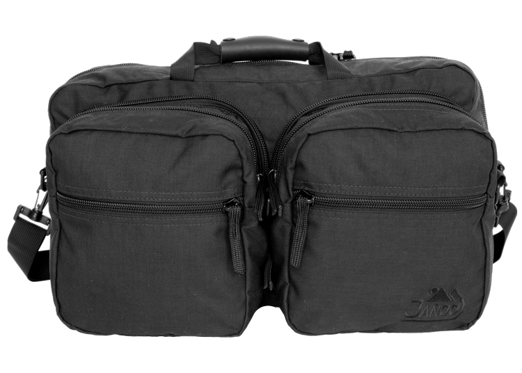 Front View Duffle Open