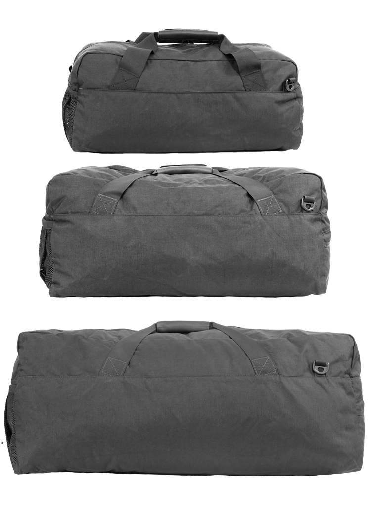 Duffle Bag Montage By Size Front