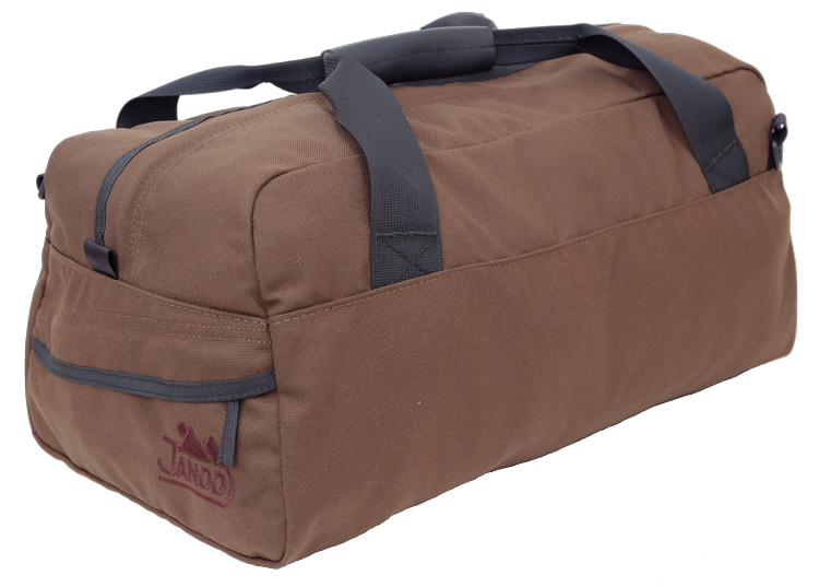 Custom Duffel Bag Chocolate Brown