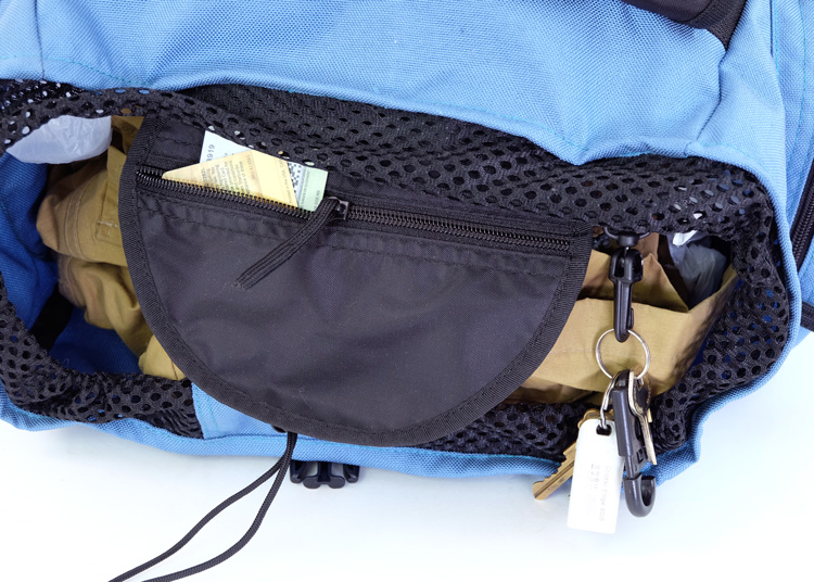 Main Compartment Inside Pocket