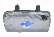Bike Cruiser Bag - Grey Shark