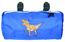 Bike Cruiser Bag - Blue Dino