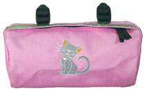 Bike Cruiser Bag - Pink Kitty