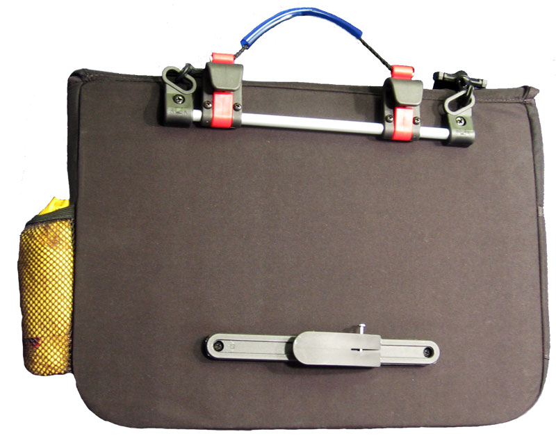 Back picture of Module-Loc System - Computer Laptop Pannier w/Raincover
