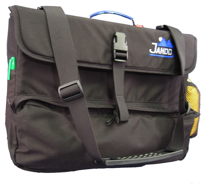 Large Front View - Computer Laptop Pannier w/Raincover