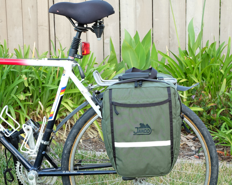 Mini Mtn Panniers Side View