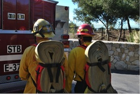 Santa Barbara Fire Modified Gasner Hose Pack