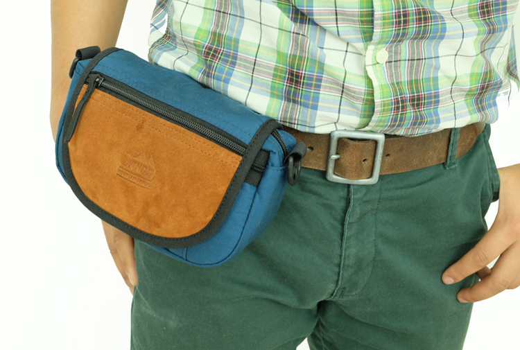 Travel Satchel Attached to Belt