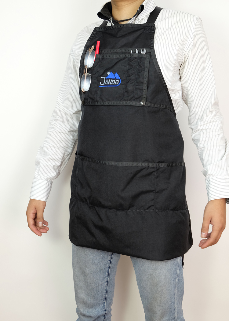 Apron Variable Length Buttoned Short