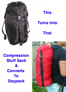 Compression Stuff Sack & Day Pack