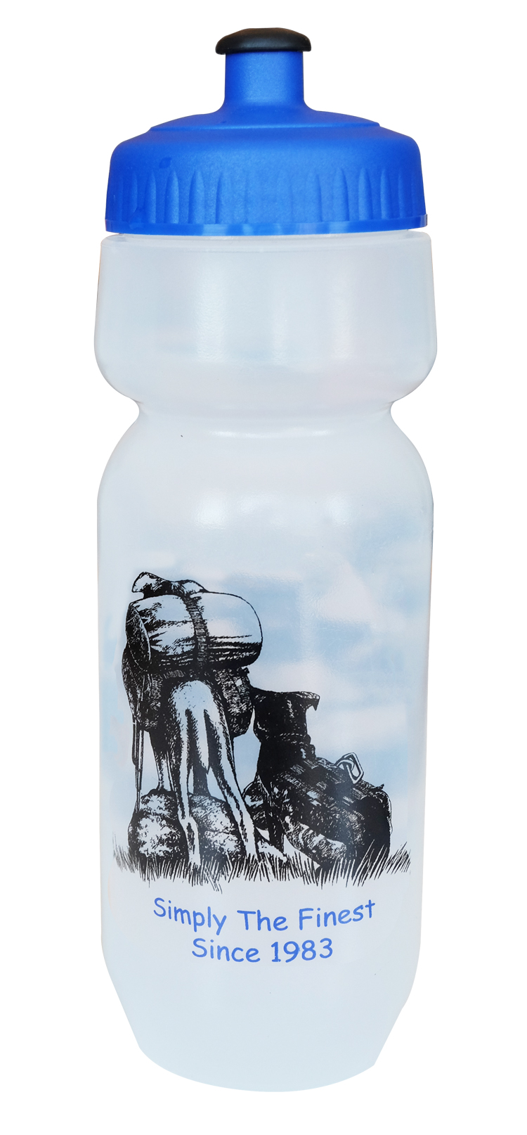 Bike Water Bottle with Dogs Back