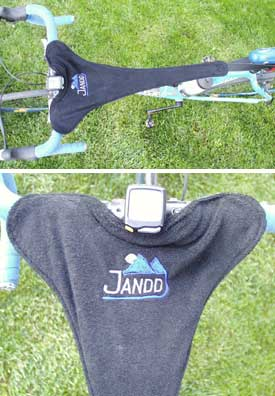 Bicycle Trainer Sweat Guard - 2nds