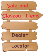 Sale Items and Dealer Locator